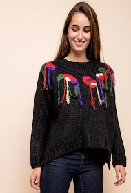 JUBYLEE embroidered sweater