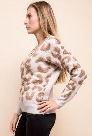 JUBYLEE leopard sweater