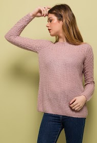 JUBYLEE open knit sweater