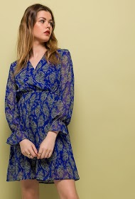 JUBYLEE cashmere print dress