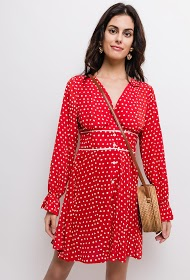 JUBYLEE polka dot dress