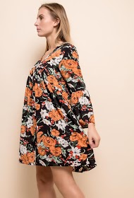 JUBYLEE loose floral dress