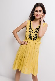 JUBYLEE embroidered dressembroidered dress