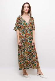 JUBYLEE patterned long dress