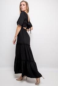 JUBYLEE long backless dress