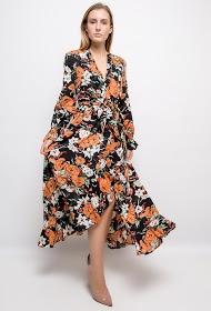 JUBYLEE long floral dress