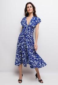 JUBYLEE floral midi dress
