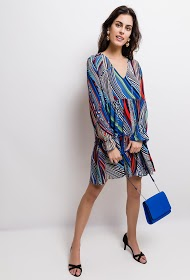 JUBYLEE striped dress