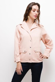 JUBYLEE jacket with buttons and pockets