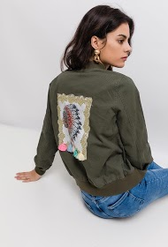 JUBYLEE jacket with embroidered back