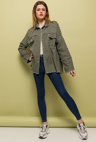 JUBYLEE studded jacket