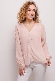 KAYCEE geplooid shirt