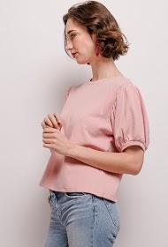 KAYCEE sweatshirt met ballonmouwen