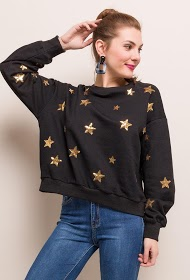 KAYCEE sweatshirt with stars