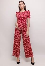KICHIC floral jumpsuit