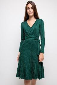 KICHIC robe plissée