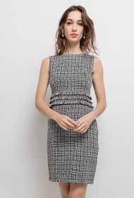 KICHIC checked dress