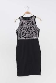 KICHIC dress with rhinestones