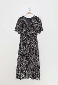 KICHIC floral midi dress