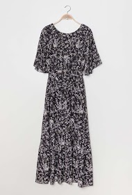 KICHIC robe longue fleurie
