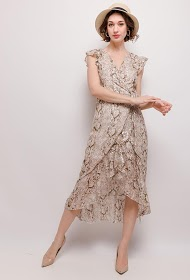 KICHIC wrap dress