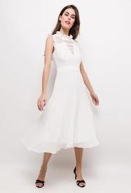 KICHIC pleated dress