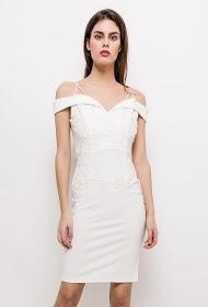 KICHIC dress with lace