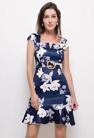 KICHIC chic floral dress