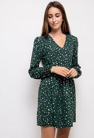 KICHIC robe à imprimé étoile