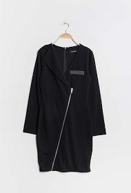 KICHIC robe zippée