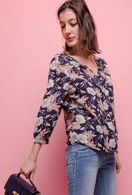 KY CRÉATION printed blouse