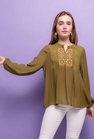 KY CRÉATION bohemian blouse