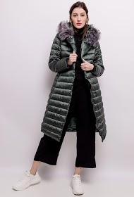 KY CRÉATION long down jacket