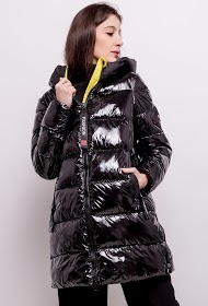 KY CRÉATION down jacket with side bands