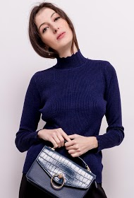 KY CRÉATION ribbed sweater