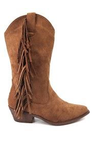 LA BOTTINE SOURIANTE fringed boots