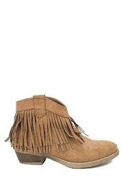 LA BOTTINE SOURIANTE fringed boots
