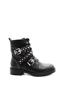 LA BOTTINE SOURIANTE ankle boots with studded straps