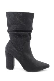 LA BOTTINE SOURIANTE shiny ankle boots