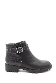 LA BOTTINE SOURIANTE croco boots