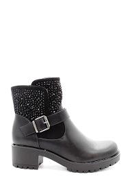 LA BOTTINE SOURIANTE rhinestone boots