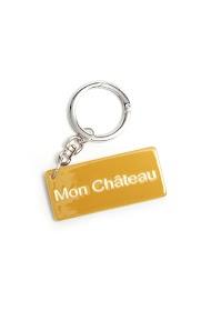 """LA P'TITE CACHOTTIÈRE key ring """"my castle"""""""