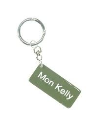 "LA P'TITE CACHOTTIÈRE keychain ""my kelly"""