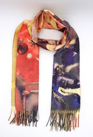 LIL' MOON scarf