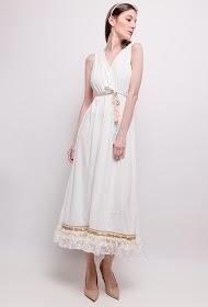 LILIE ROSE long bohemian dress