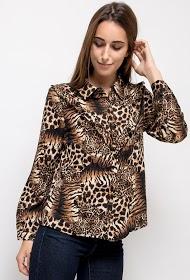 LILIE ROSE leopard-shirt
