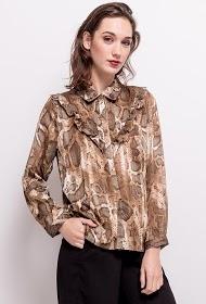LILIE ROSE chemise python