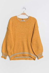 LILIE ROSE sweater with lurex