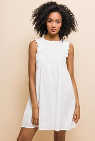 LILIE ROSE embroidered dress