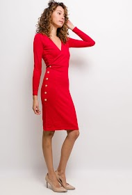 LILIE ROSE knitted dress